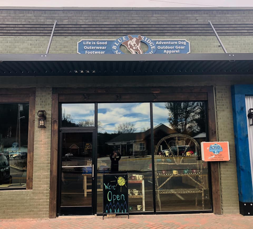 Blue Ridge Adventure Wear Storefront