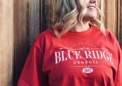Red Blue Ridge Adventure Wear Shirt