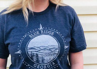 Dark Blue Compass Shirt