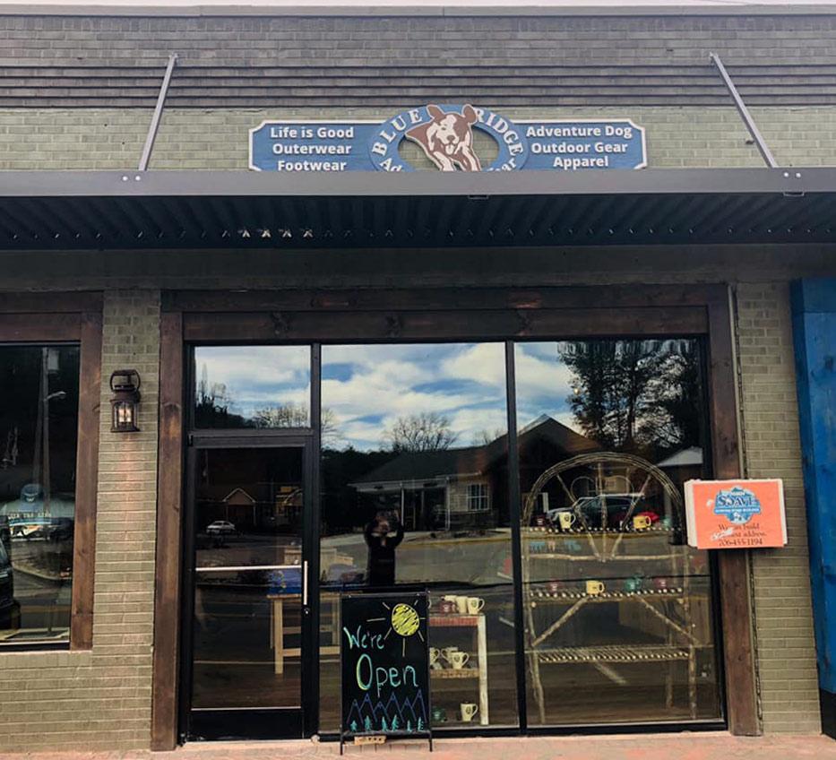 Blue Ridge Adventure Wear Storefront